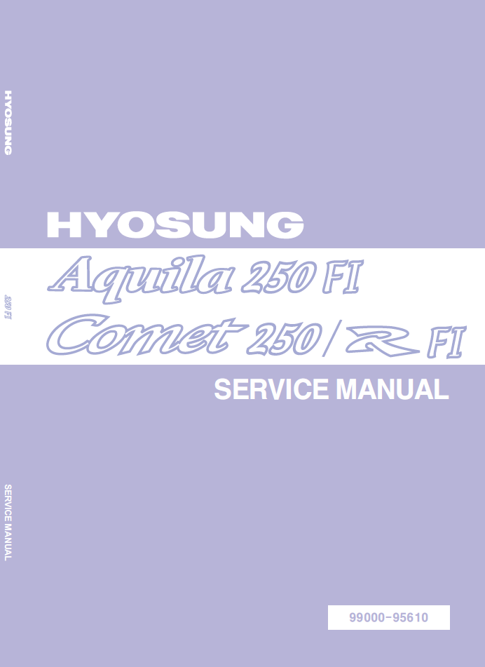 hyosung gv250 gt250 efi service manual 250cc motorcycle forum hyo cover png