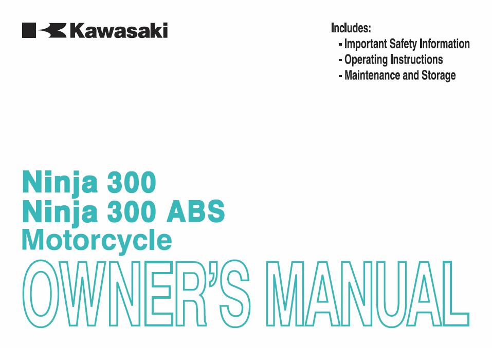 kawasaki ninja 300 owners manual 2fiftycc com home of the rh 2fiftycc com ninja 300 owners manual pdf kawasaki bayou 300 owners manual