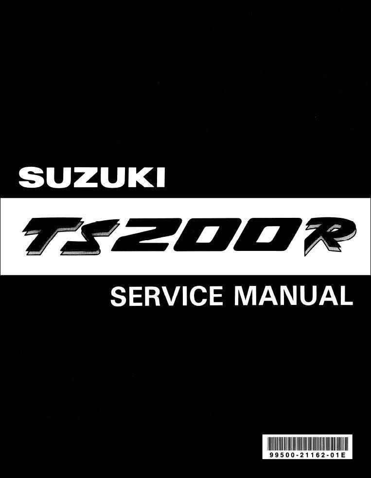 Мануал suzuki ts 200